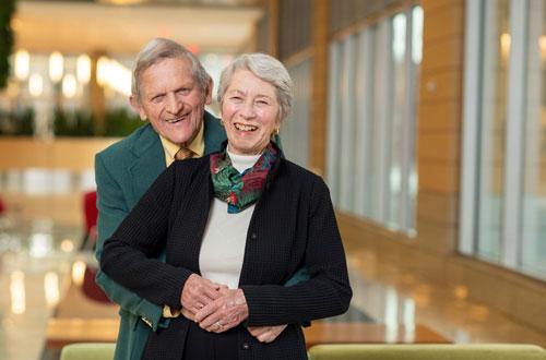 John and Tashia Morgridge